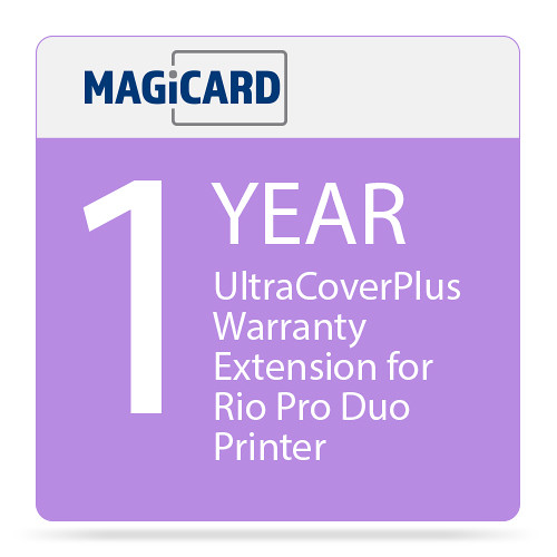 Magicard UltraCoverPlus 1-Year Warranty Extension for Rio Pro Duo Printer