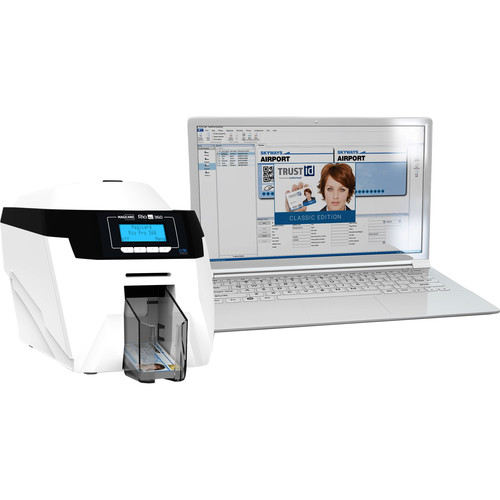 Magicard Rio Pro 360 Double-Sided ID Card Printer with TrustID Classic Software