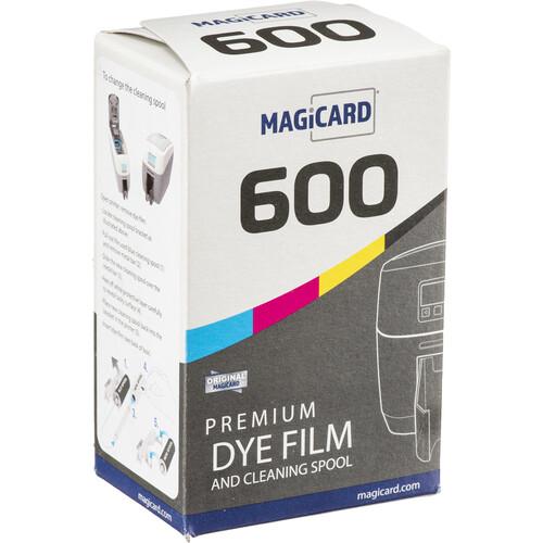 Magicard 250-Shot Color Film (Black on Reverse) for 600 Series Printers
