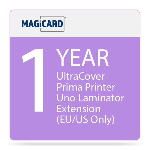 Magicard 1-Year UltraCoverPlus Warranty Extension for Prima Uno Laminator