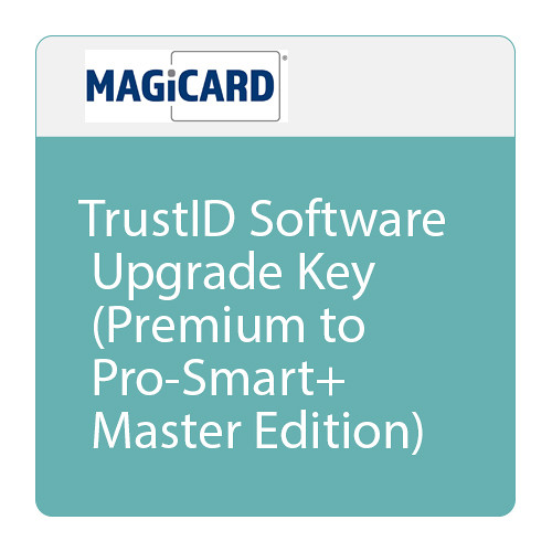 Magicard TrustID Software Upgrade Key (Premium to Pro-Smart+ Master Edition)