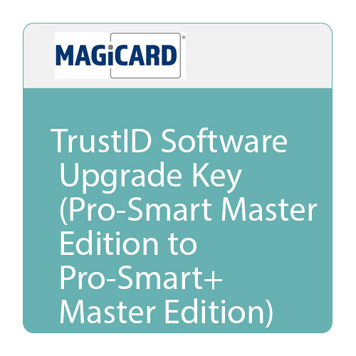 Magicard TrustID Software Upgrade Key (Pro-Smart Master Edition to Pro-Smart+ Master Edition)