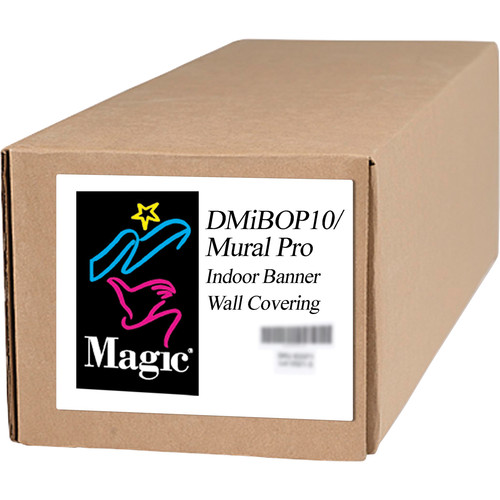 "Magiclee DMiBOP10 Mural Pro Indoor Banner Wallcovering (54"" x 75' Roll)"