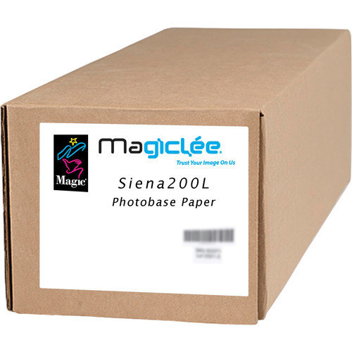 "Magiclee Siena 200L Luster Photobase Paper (60"" x 100' Roll)"