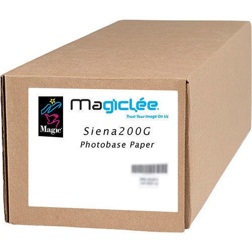 "Magiclee Siena 200G Glossy Photobase Paper (50"" x 100' Roll)"