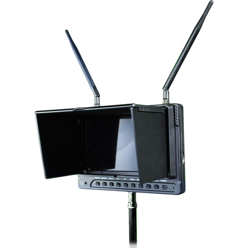 """MagiCue 10.1"""" Wireless Monitor with DVR"""
