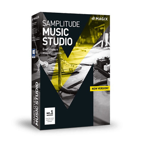 MAGIX Entertainment Samplitude Music Studio 2016 - Academic ESD