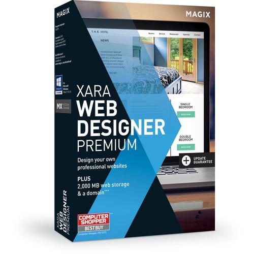MAGIX Entertainment Xara Web Designer Premium (5-99 License Tier, Download)