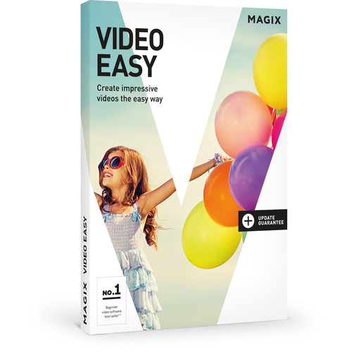 MAGIX Entertainment Video easy (Volume 100+, Academic, Download)