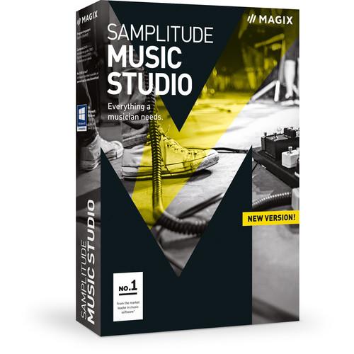 MAGIX Samplitude Music Studio - Music Production Software (Boxed)