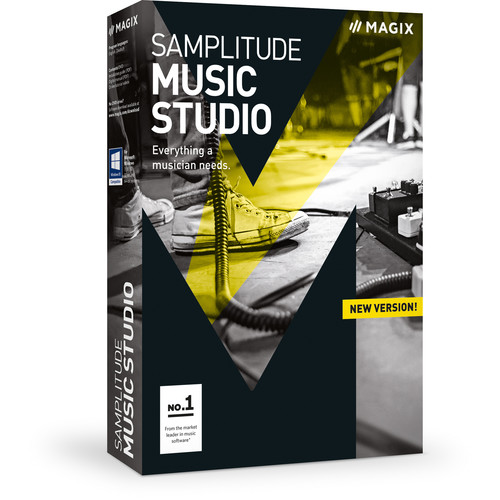 MAGIX Entertainment Samplitude Music Studio - Music Production Software (Educational, 5-99 Tier Site-Licenses, Download)