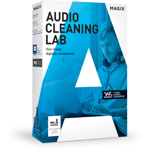 MAGIX Entertainment Audio Cleaning Lab - Audio Restoration Software (5-99 Tier Site-License, Download)