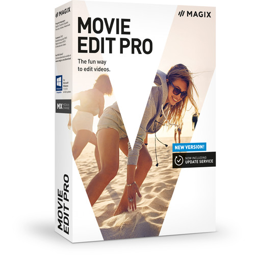 MAGIX Entertainment Movie Edit Pro (Volume 100+, Academic, Download)