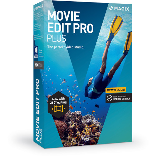 MAGIX Entertainment Movie Edit Pro Plus (Academic, Download)