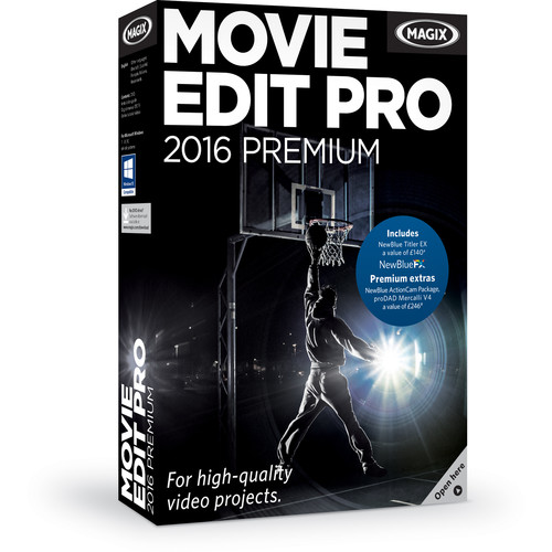 MAGIX Entertainment Movie Edit Pro Premium (Volume 5-99, Academic, Download)