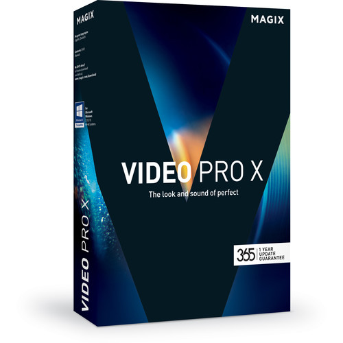MAGIX Entertainment Video Pro X (Volume 100+, Academic, Download)