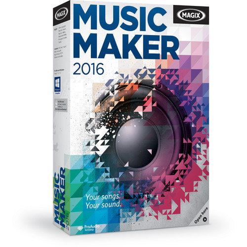 MAGIX Entertainment Music Maker - Music Production Software (Boxed)