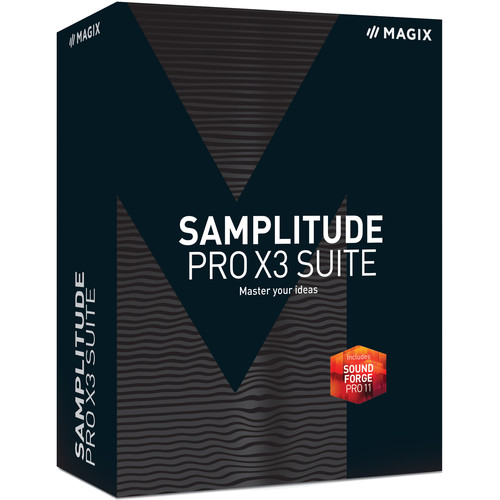 MAGIX Entertainment Samplitude Pro X3 Suite - Music Production and Editing Software (Educational, 5-99 Tier Site-License, Download)