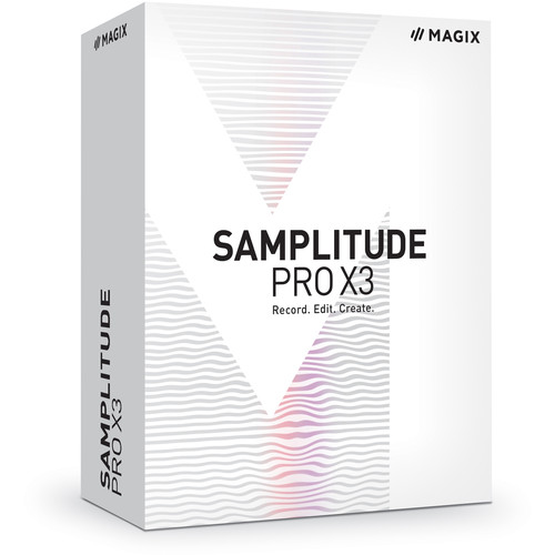 MAGIX Entertainment Samplitude Pro X3 Suite - Music Production and Editing Software (Download)