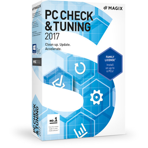 MAGIX Entertainment PC Check & Tuning 2017 (Academic, Download)