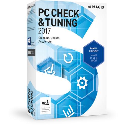 MAGIX Entertainment PC Check  Tuning 2017 - Academic Volume 100+