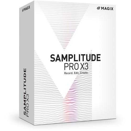 MAGIX Samplitude Pro X3 - Music Production Software (Boxed)