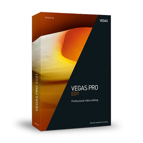 MAGIX Entertainment Vegas Pro 14 Edit (Volume 100+, Upgrade, Download)