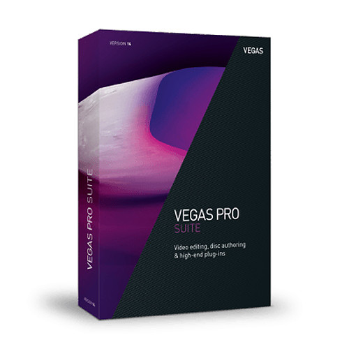 MAGIX Entertainment Vegas Pro 14 Suite (Volume 5-99, Academic, Upgrade, Download)