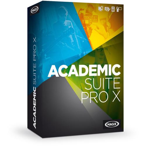 MAGIX Entertainment Academic Suite Pro X (Volume 100+, Download)