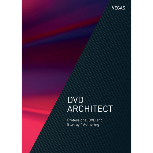 MAGIX VEGAS DVD Architect - DVD and Blu-ray Disc Authoring Software (Academic, 5-99 Volume License, Download)