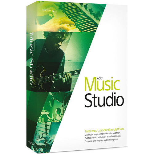 MAGIX Entertainment ACID Music Studio 10 - Music Production Platform (100+ Tier Site-Licenses, Download)