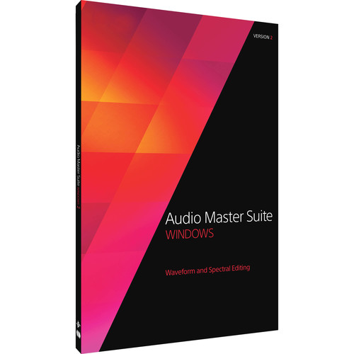 MAGIX Entertainment Audio Master Suite 2.5 - Audio Editing Software Bundle (Educational, Download)
