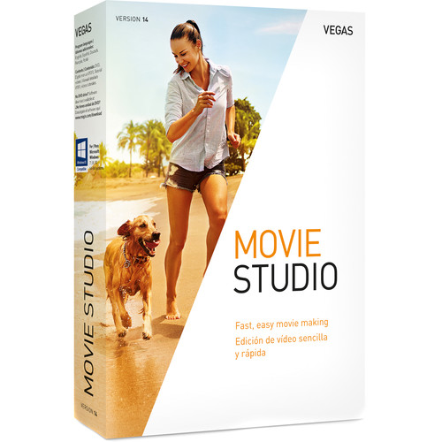 MAGIX Entertainment VEGAS Movie Studio 14 (Volume 5-99, Download)