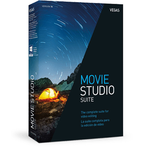 MAGIX Entertainment VEGAS Movie Studio 14 Suite (Volume 5-99, Academic, Download)