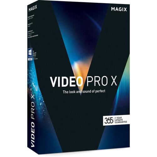 MAGIX Entertainment Video Pro X (Academic, Volume 100+, Download)