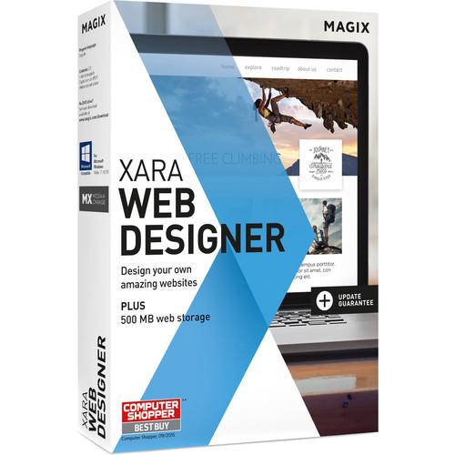 MAGIX Entertainment Xara Web Designer Software - Academic Site License 5-99