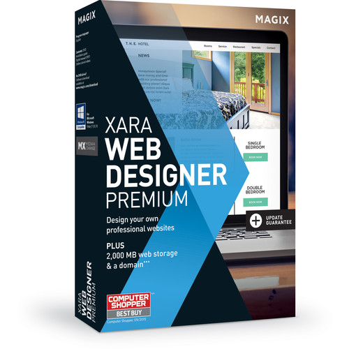 MAGIX Entertainment Xara Web Designer Premium Software - Academic