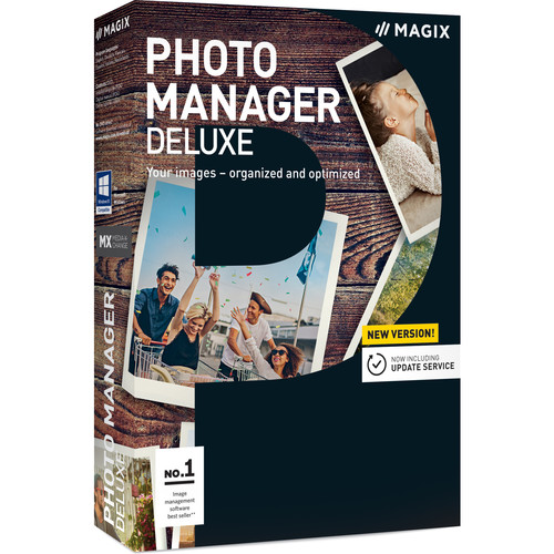 MAGIX Photo Manager Deluxe (Download, Academic Edition)