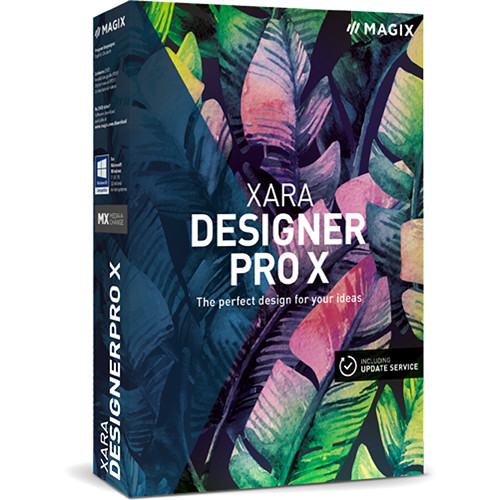 MAGIX Entertainment Xara Designer Pro X (Academic Edition / 1-4 User License / Electronic Download)