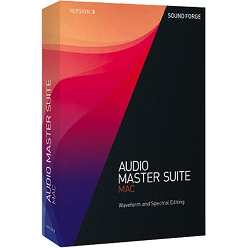 MAGIX Entertainment Audio Master Suite Mac 3 Upgrade - Audio Editing Software Bundle (Educational, Download)