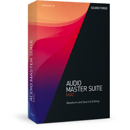 MAGIX Entertainment Audio Master Suite Mac 3 - Audio Editing Software Bundle (Educational, 5-99 Tier Site License, Download)
