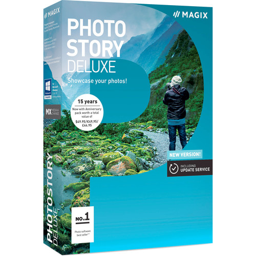 MAGIX Entertainment Photostory Deluxe 2017 (Download, Academic Edition, 5-99 Volumes)