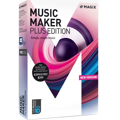 MAGIX Entertainment Music Maker Plus Edition - Music Production Software (Educational, 100+ Tier Site-License, Download)