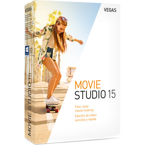MAGIX Entertainment Vegas Movie Studio 15 - Academic Site License 100+