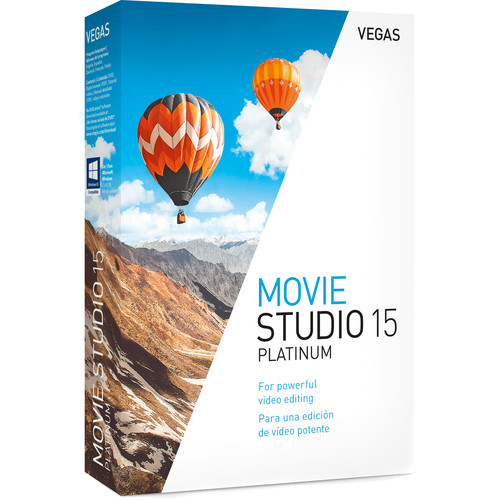 MAGIX Entertainment Vegas Movie Studio 15 Platinum - Esd Site License 05-99