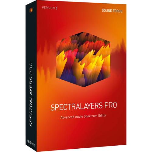 MAGIX Entertainment SpectraLayers Pro 5 Upgrade - Advanced Audio Spectrum Editor Software (Download)