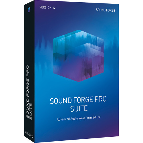 MAGIX Entertainment Sound Forge Pro 12 Suite - Audio Waveform Editing Software (Download)