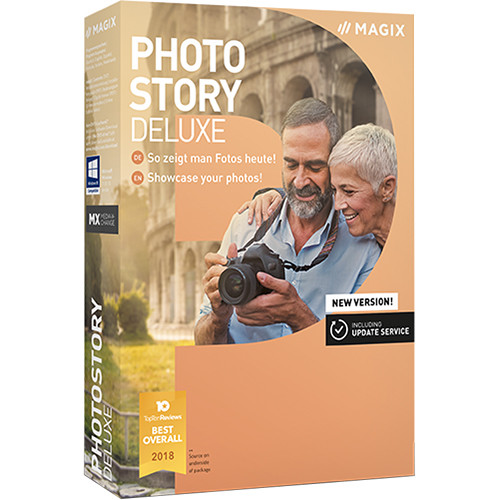 MAGIX Entertainment Photostory Deluxe 2019 (Download, Academic Edition, 5-99 Volumes)