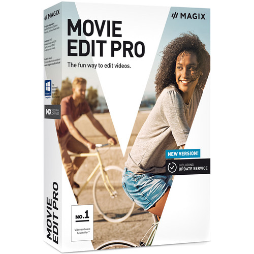 MAGIX Entertainment Movie Edit Pro (2019) Software - EDU Site License 100+