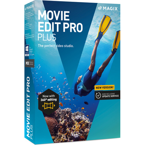 MAGIX Entertainment Movie Edit Pro Plus (2019) Software - EDU Site License 05-99